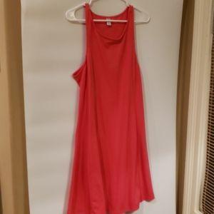 4/$25 Old Navy XL Pink Halter Dress